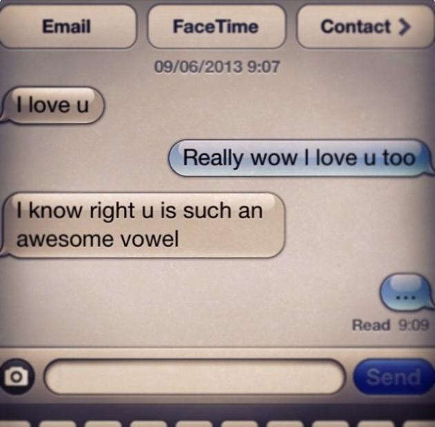 Funny Texting Memo